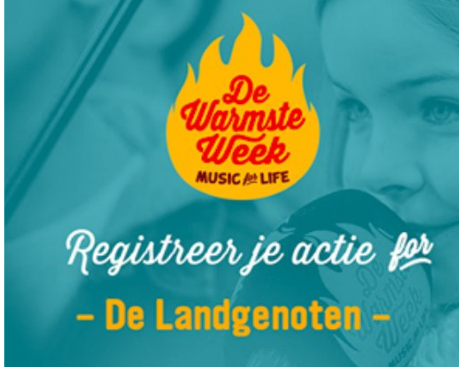De Landgenoten Warmste Week December 2018