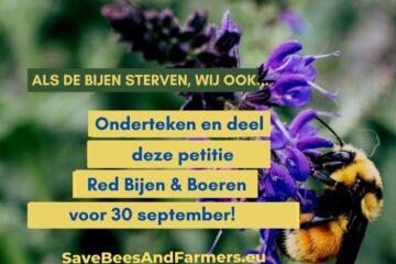 Petitie Bijen Boeren 30 September 2021