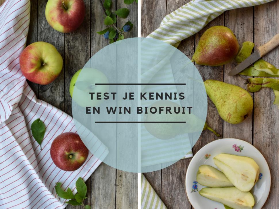 Test Kennis Win Biofruit