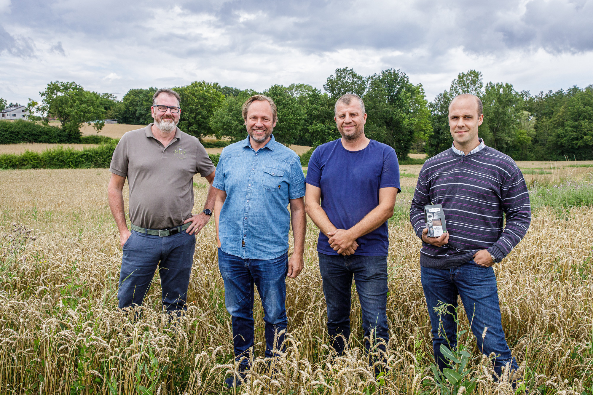 Guy Thorrez, Leo Bormans, Matthias Fayt en Thibault Hannnoteau