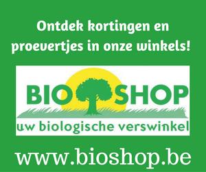 Bio Shop Banner Groenten